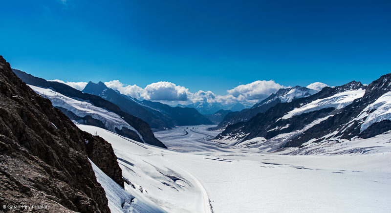 Bernese Alps from Jungfraujoch, Switzerland