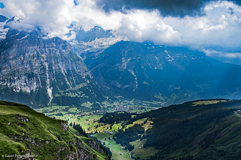 Bernese Alps from Grindelwald First, Switzerland