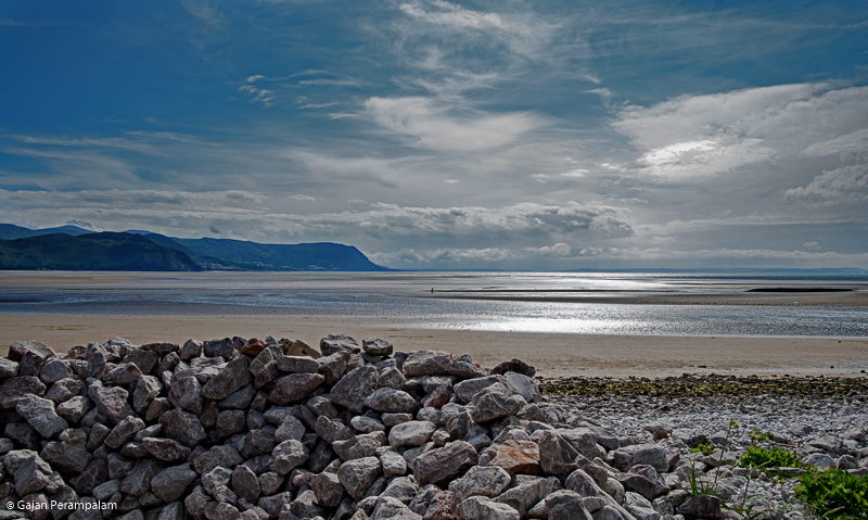 West Shore Beach, Llandudno, North Wales, United Kingdom