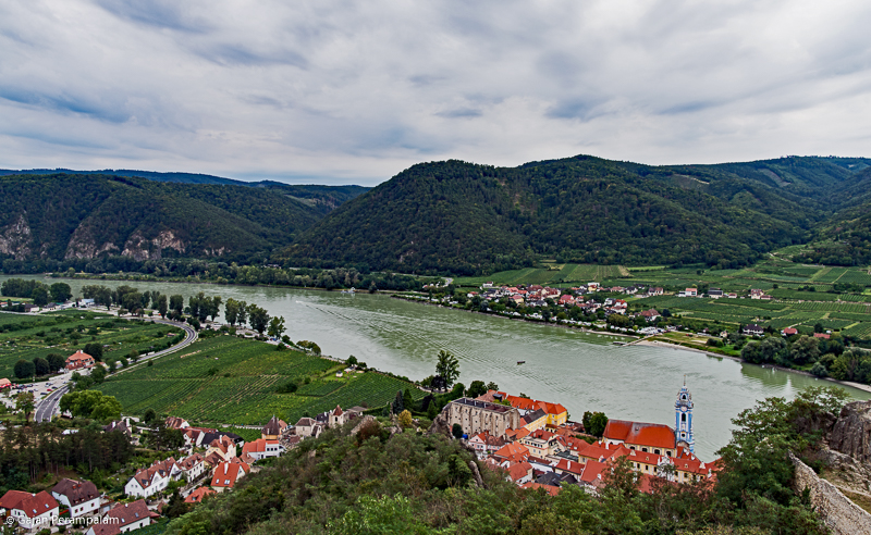 Wachau Valley and Danube River, Durnstein, Austria