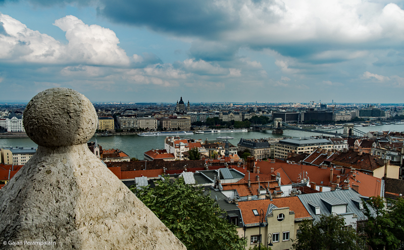 Budapest from Fisherman's Bastion, Hungary
