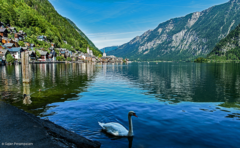 Hallstätter See and Hallstatt, A World Heritage Site, Austria